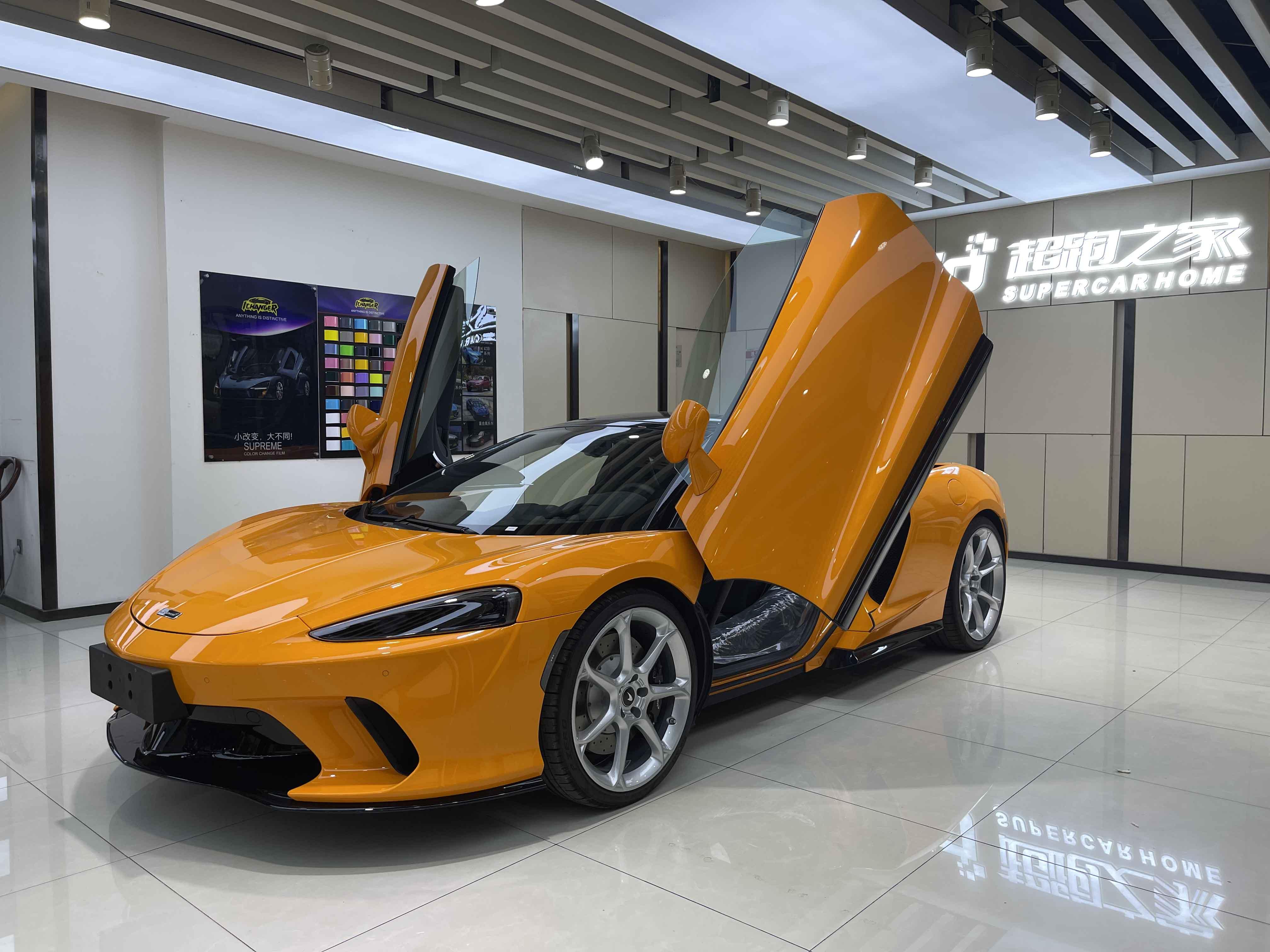 迈凯伦GT橙色2021年09月