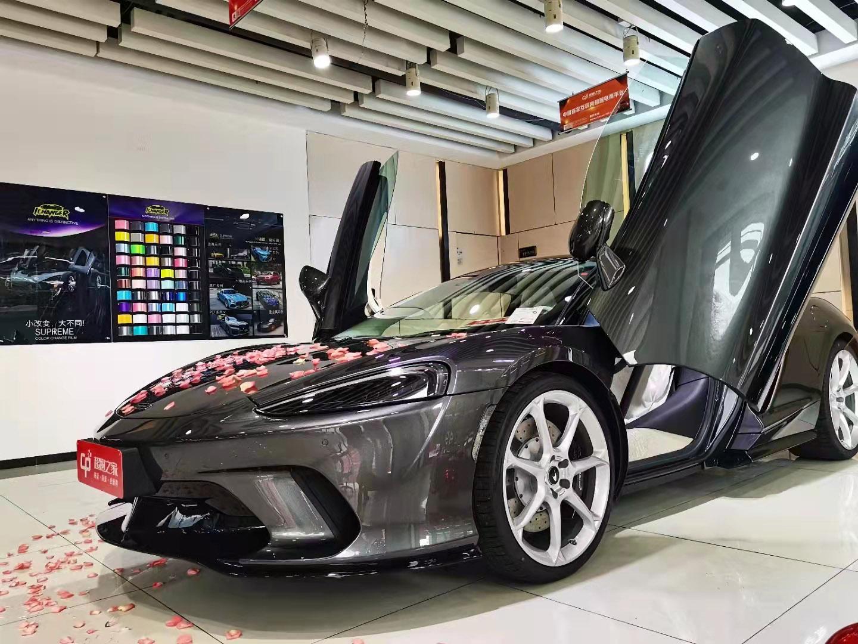 迈凯伦GT灰色2021年07月