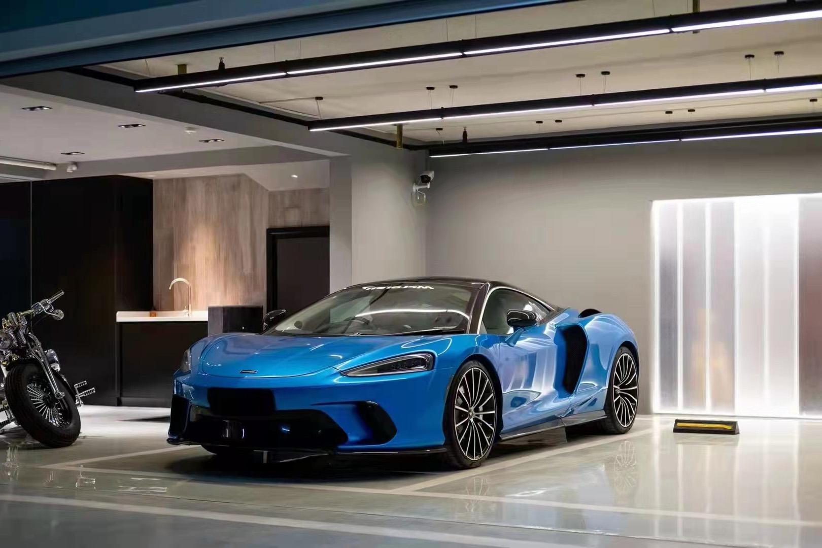 迈凯伦GT蓝色2021年09月