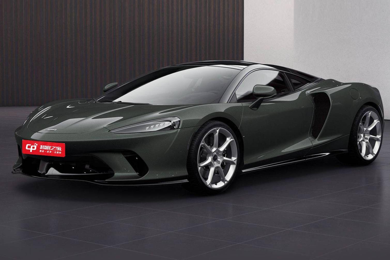 迈凯伦GT绿色2020年11月