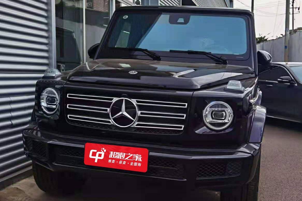 奔驰 G350黑色2020年11月