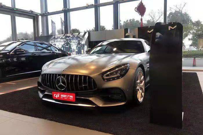 奔驰AMG.GT灰色2020年12月