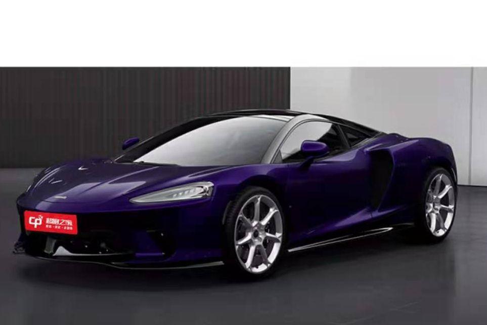 迈凯伦GT紫色2020年12月