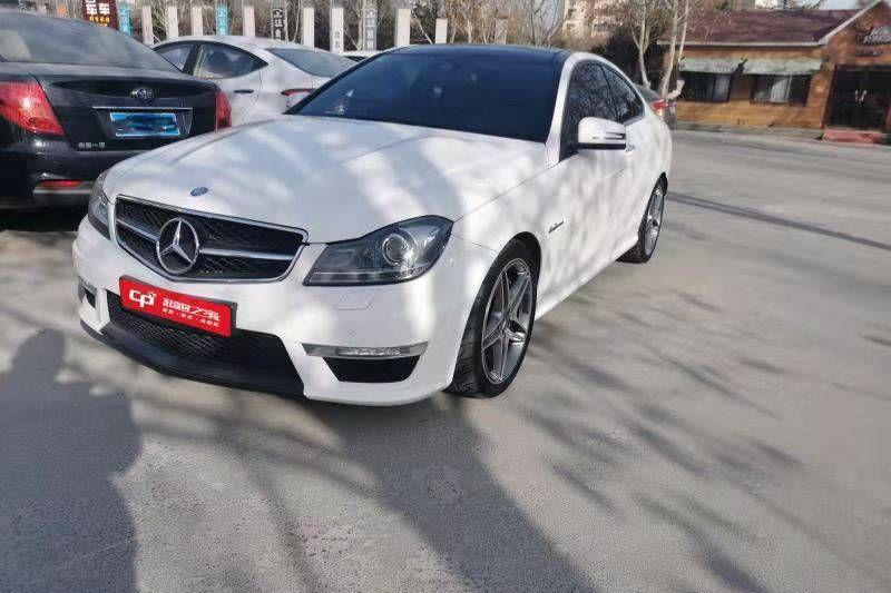 奔驰C.AMG白色2015年04月