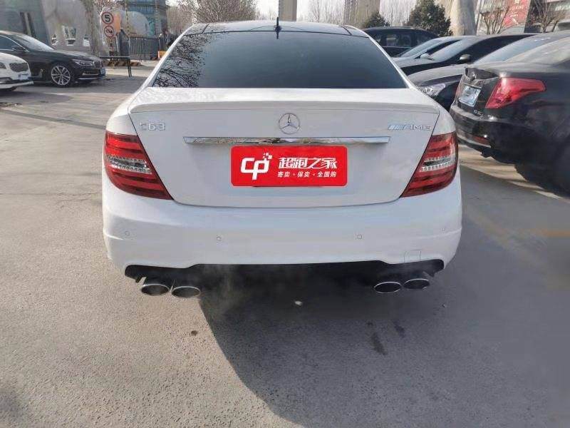 奔驰C级 2012款 AMG C63 Coupe 动感型