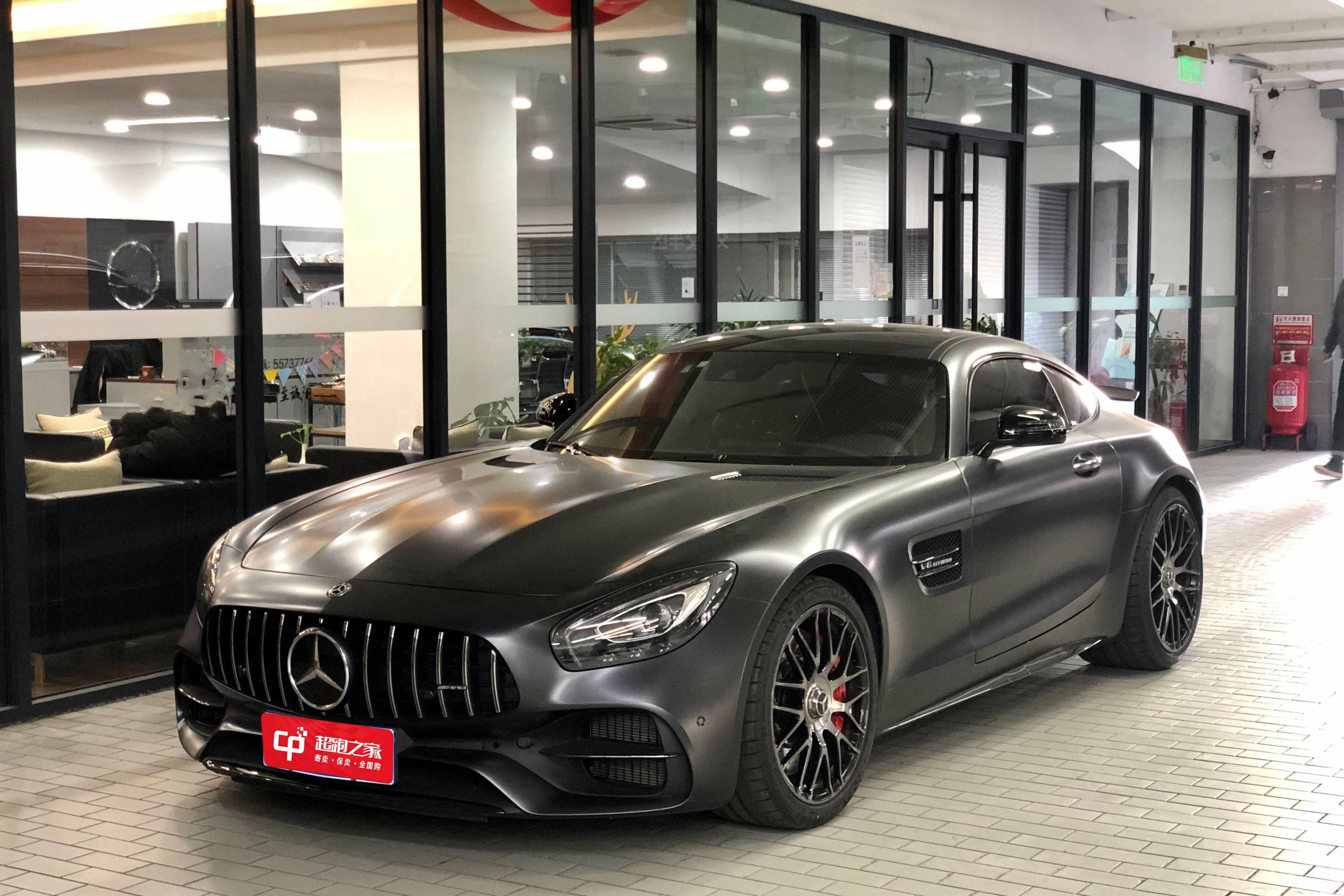 奔驰AMG.GT黑色2019年05月