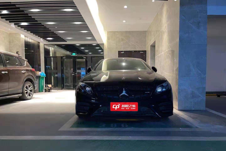 奔驰E.AMG黑色2020年01月
