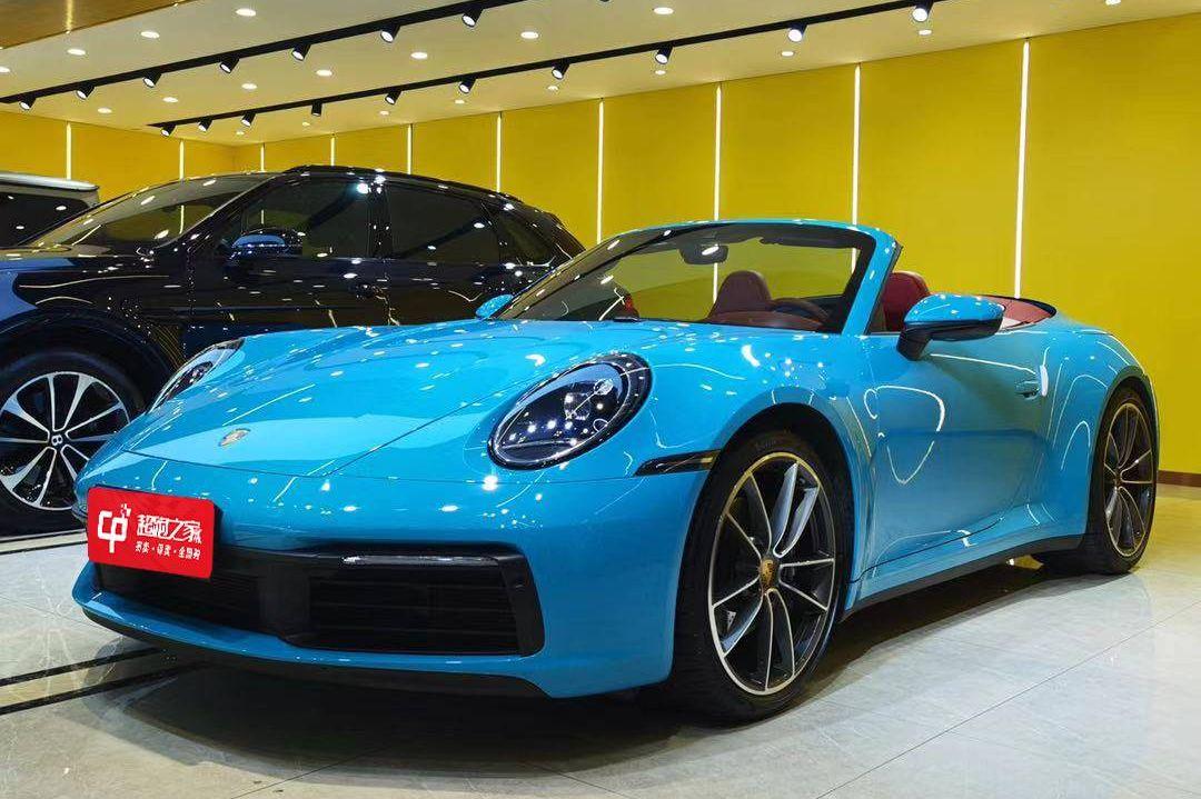保时捷911蓝色2020年02月