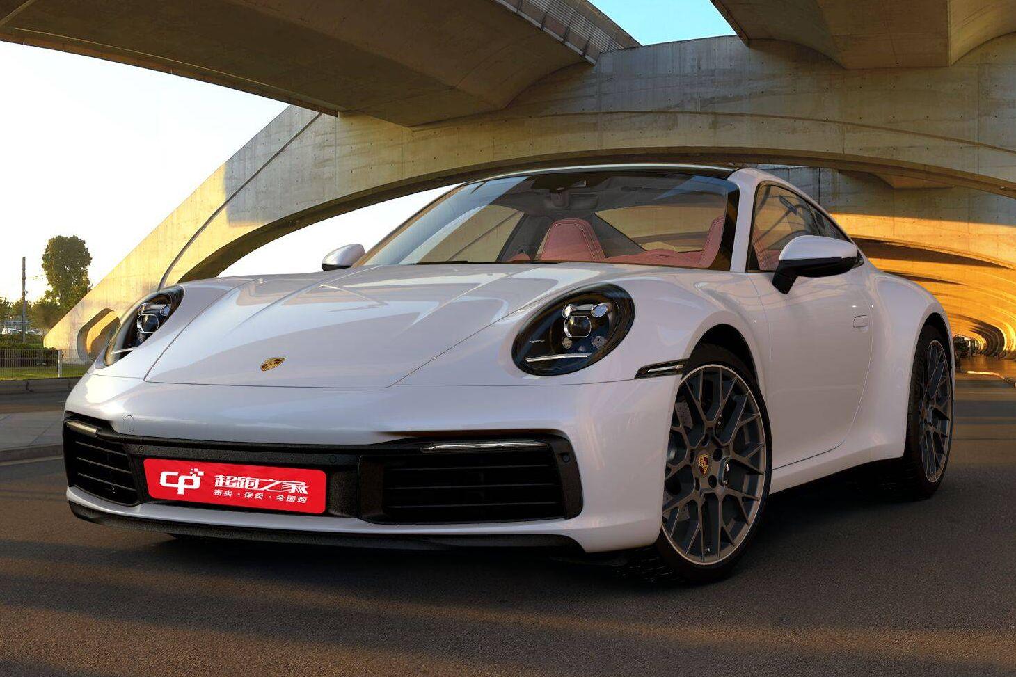 保时捷911白色2021年02月