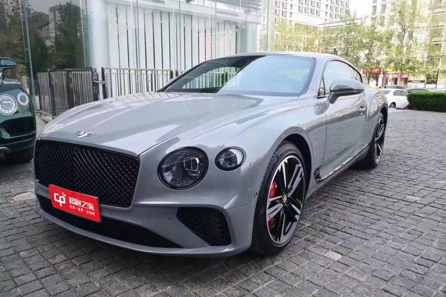 宾利欧陆GT灰色2020年06月