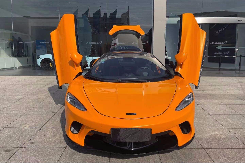 迈凯伦GT橙色2021年05月