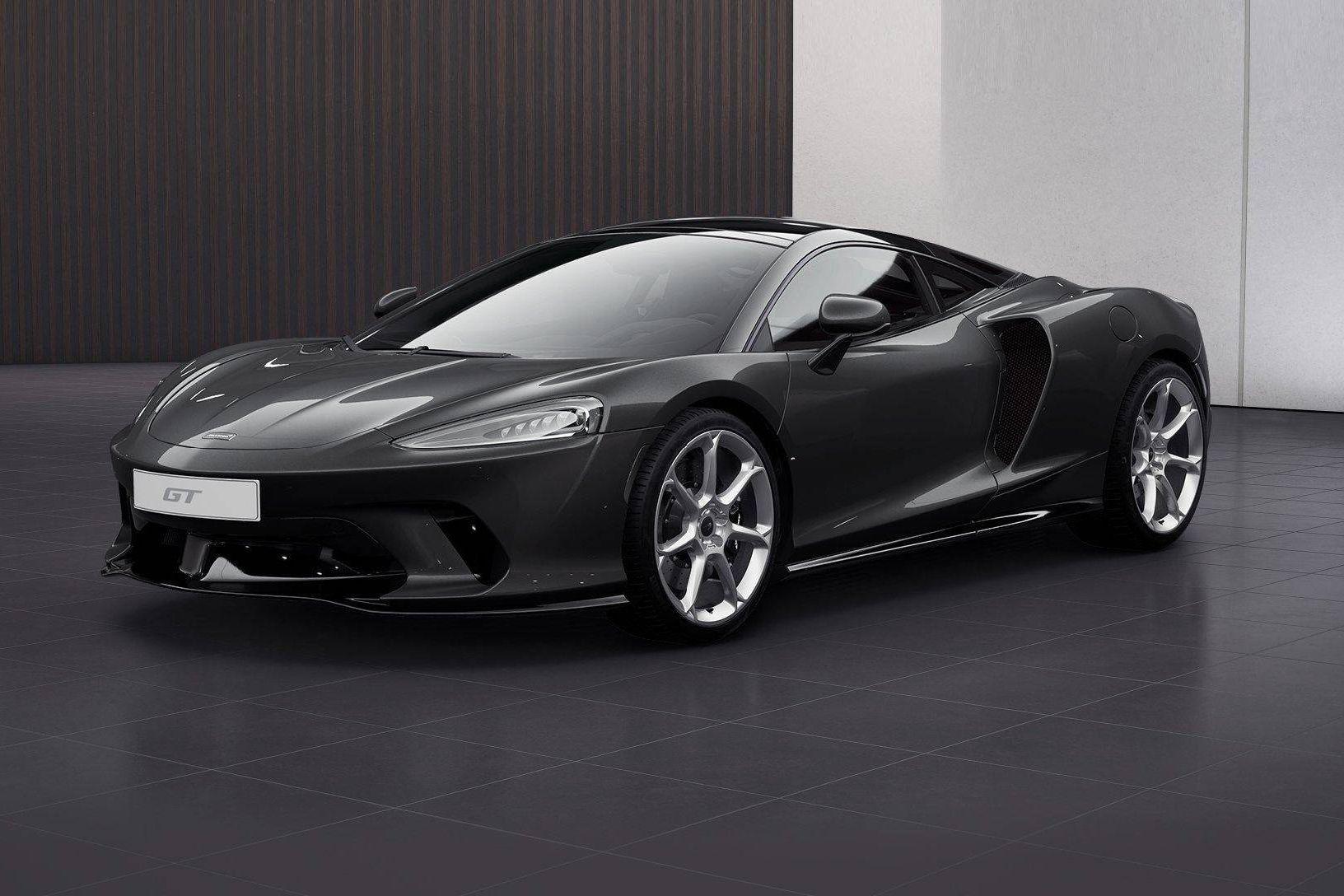 迈凯伦GT灰色2021年04月