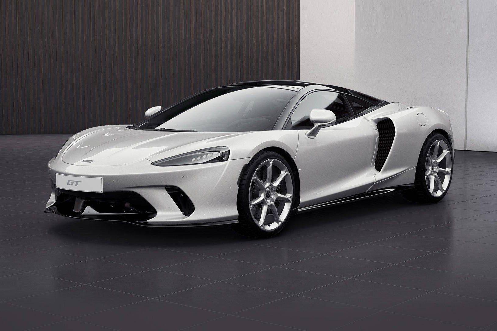 迈凯伦GT白色2021年05月