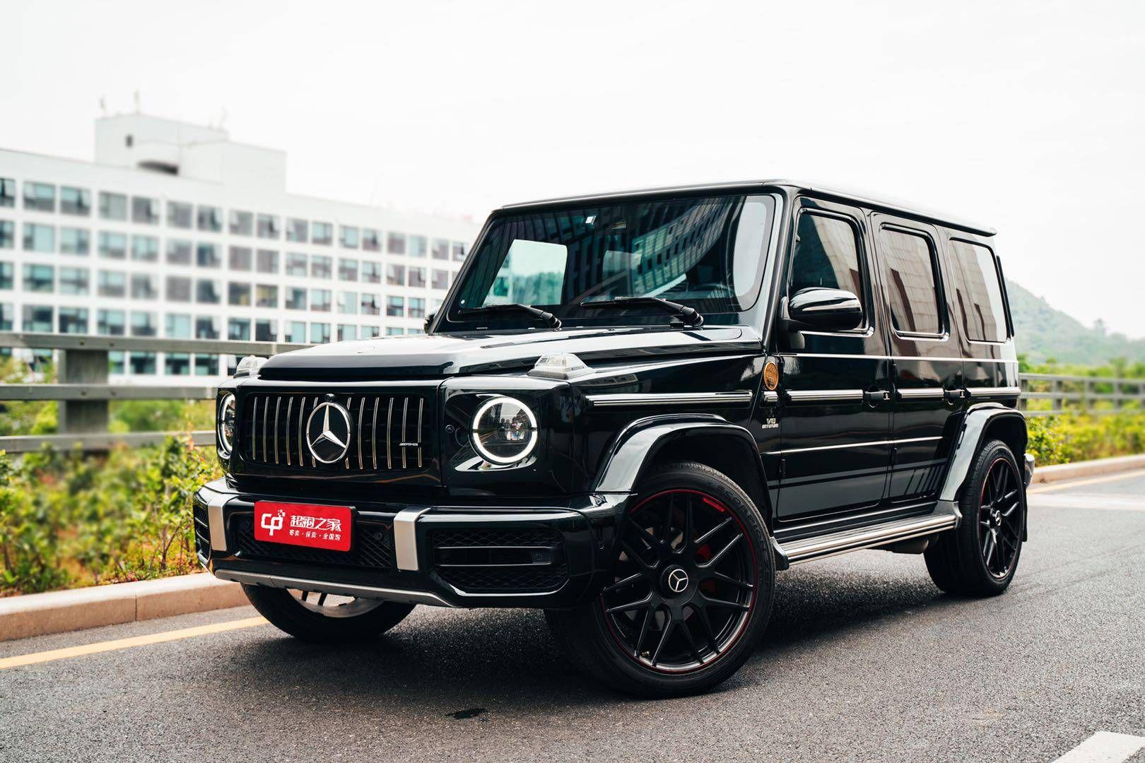奔驰AMGG级黑色2019年09月
