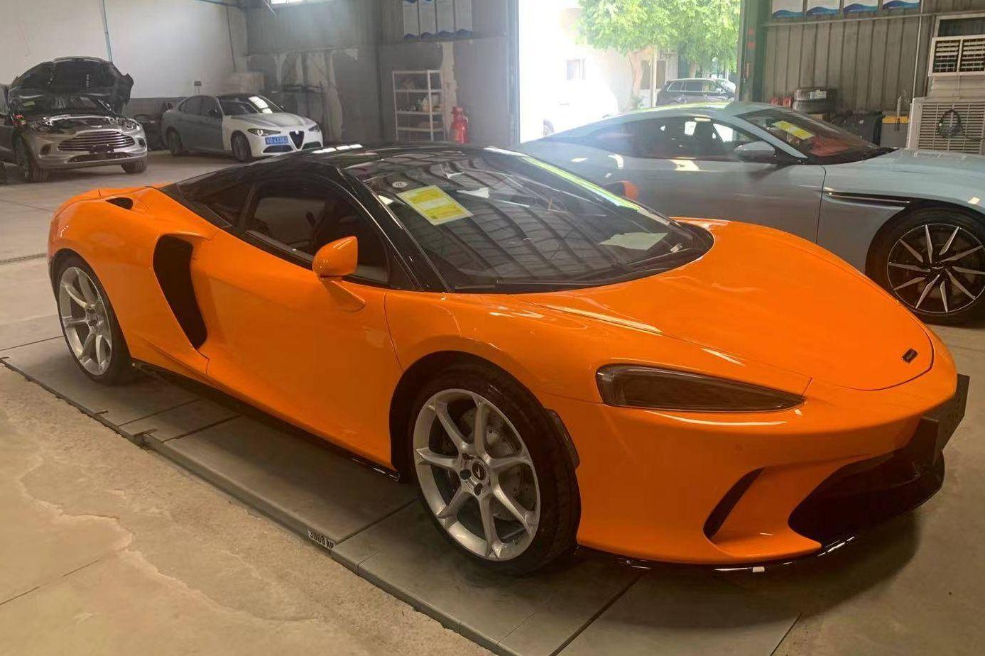 迈凯伦 GT橙色2021年05月