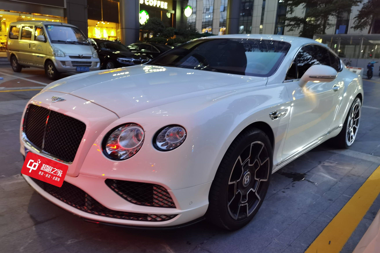 宾利欧陆GT白色2013年07月