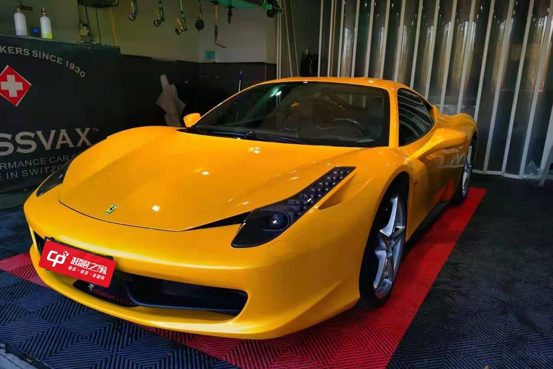 法拉利458黄色2010年08月