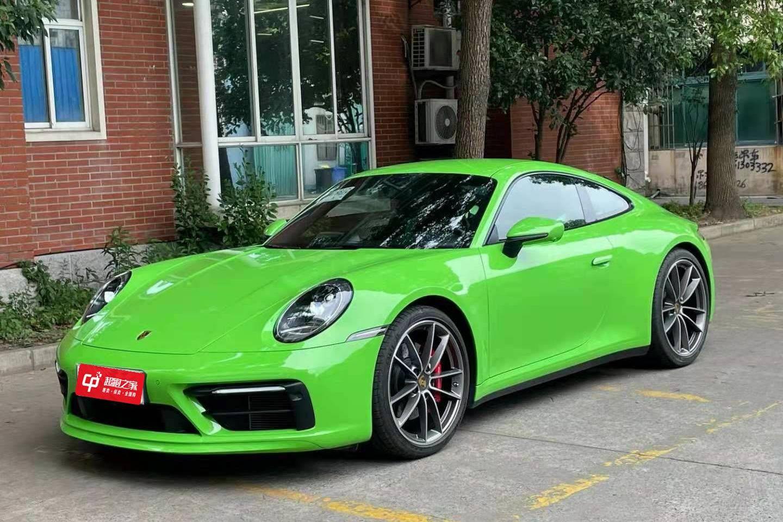 保时捷911绿色2020年08月