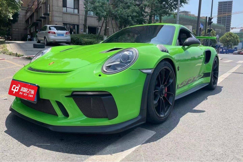 保时捷911绿色2019年06月