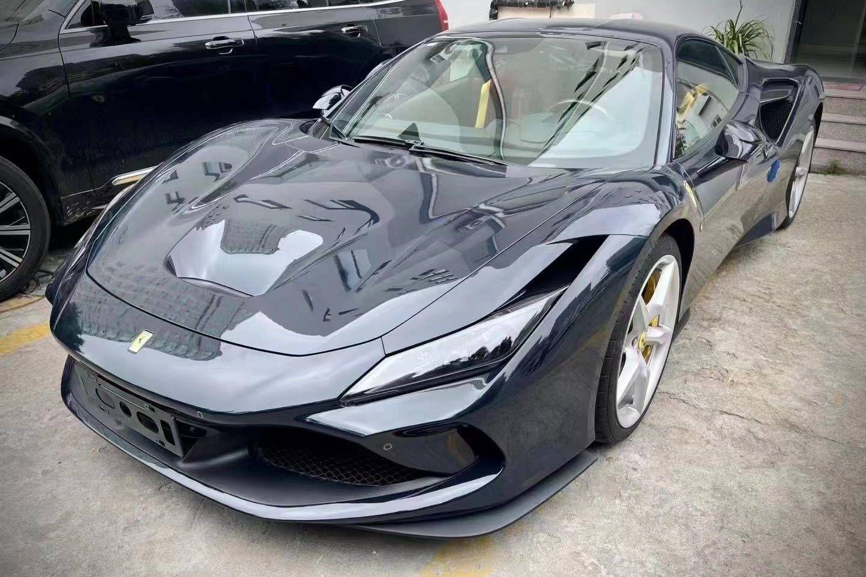 法拉利F8灰色2020年11月