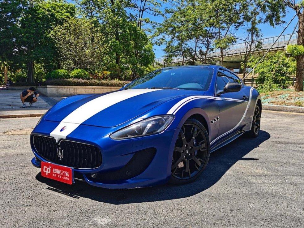 玛莎拉蒂GT蓝色2013年03月
