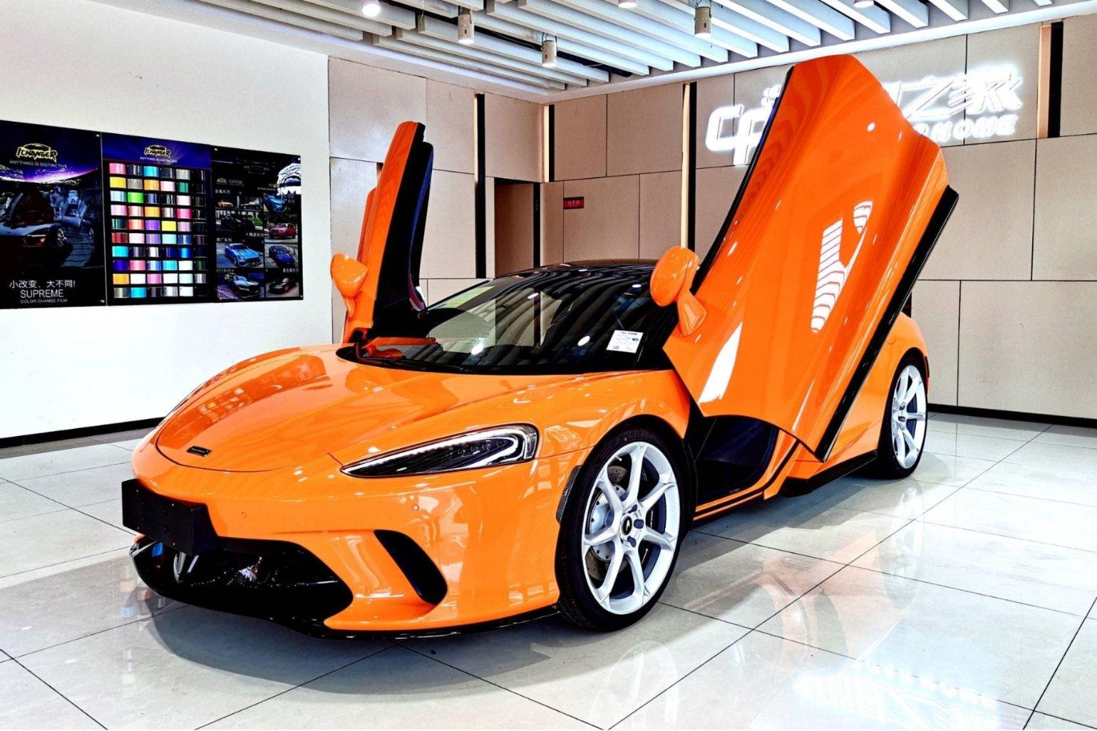 迈凯伦GT橙色2021年07月