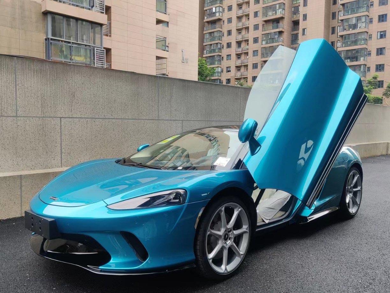 迈凯伦GT蓝色2021年08月